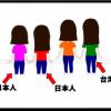 日本人跟台湾人的分別