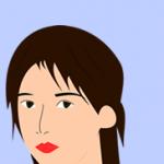 女性的眉毛/最近女の眉毛